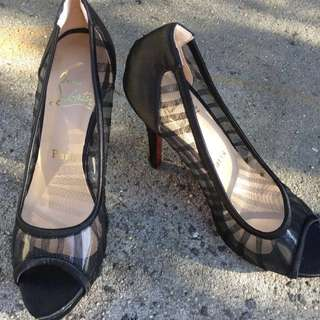 REDUCED Christian Louboutin Black Shoes