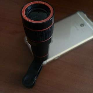 Spy gear telescope zoom Len iphone Samsung