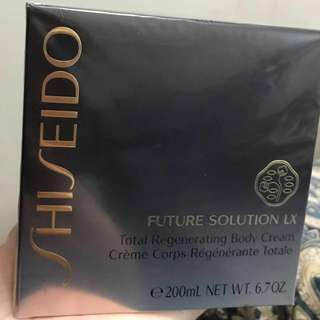 Shiseido Total Regenerating Body Cream (Made in Japan) 全新 正貨