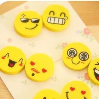 Children's day 1 day special!! Mini Smiley face eraser