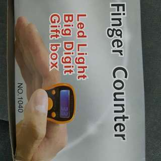 LED Finger Counter