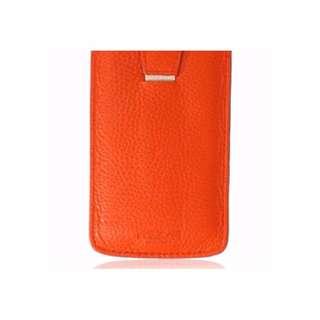 Morelle & Co. Leather iPhone Case (Orange)