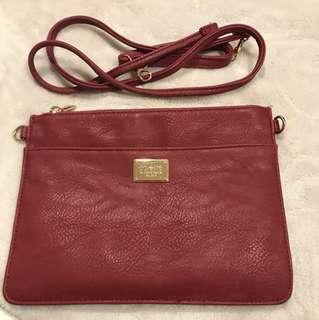 Burgundy Colette Bag