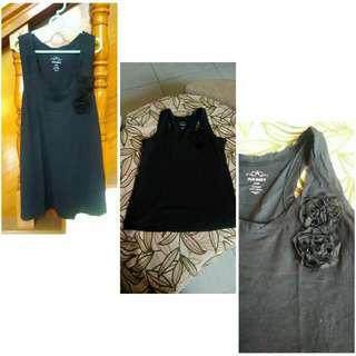 Old Navy black sleeveless