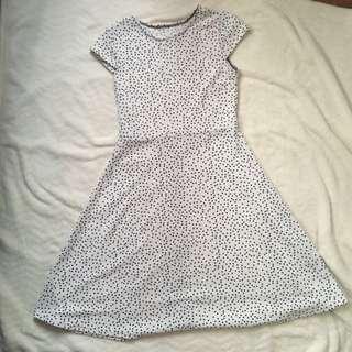 BAZAAR Polka Dot Dress