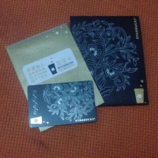 Starbucks Embroidered China Card-Limited Edition