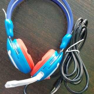Heavy duty Gaming Headset Ruberized Earpads