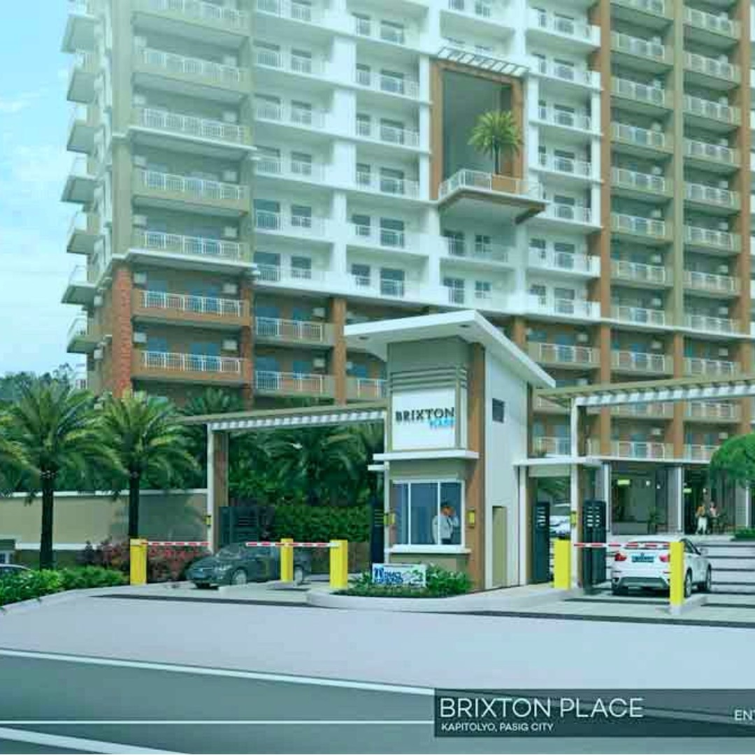 1 bedroom Condo in Kapitolyo Pasig Brixton Place 1 bedroom near Capitol Commons