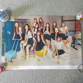 PRISTIN - Schxxl Out (In ver. - Ball ver.) (Poster) [UNFOLDED]
