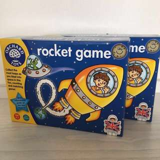 英國Orchard Toys Rocket game cards
