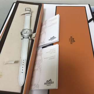 Hermes watch authentic