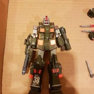 Gundam fix #0036 full armor gundam green