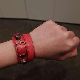 Balenciaga Pink Bracelet