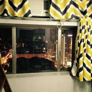 Condo for rent Cubao Quezon City (Manhattan Parkway) Fully furnished in front of Kia Theater and Araneta Coliseum