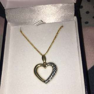 Prouds Heart Necklace
