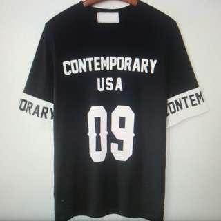 Contemporary USA print T-shirt