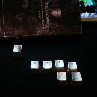 Keycaps Mechanical Gaming Keyboard Tesoro