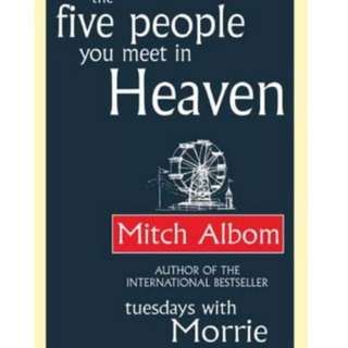 [WTS] Mitch Albom The Five People You Meet In Heaven