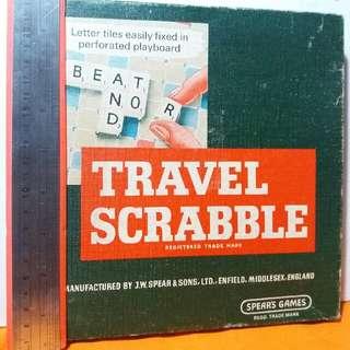 Travellers Scrabble