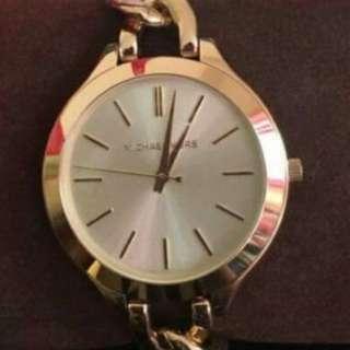 Authentic MK spiral Watch