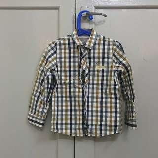 Boy's Next Plaid Shirt 5YO