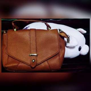 Brown Sling Bag(never been used)