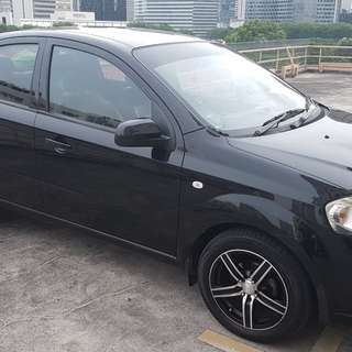 CAR FOR RENT @ Punggol. (MANUAL) Chevrolet Aveo Sedan
