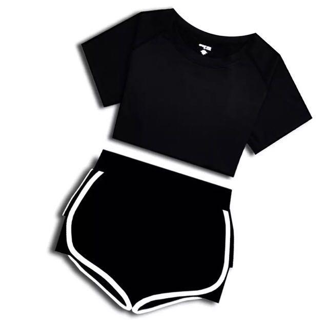 瑜珈服運動裝吸濕排汗透氣套裝兩件套~五件套💰220~500