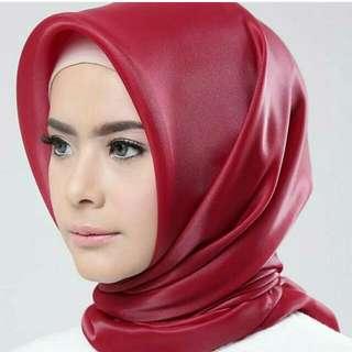 Organza Silk Square Hijab