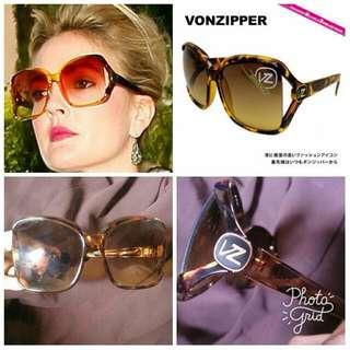 Vintage Von Zipper Dharma Sunglasses