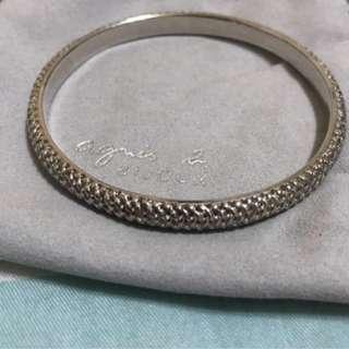 925 Silver AGNES b Bracelet