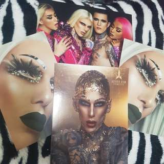 Jeffree Star Postcards x4