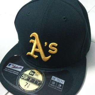 New Era Fitted 59Fifty Oakland Athletics