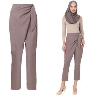 Poplook Wrapped Style Tappered Pants