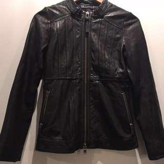 Mackage leather jacket size xs
