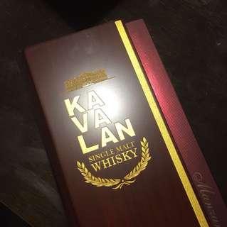 Kavalan Manzanilla Sherry Cask Single Malt Whisky