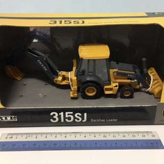 Backhoe Loader Die-Cast Metal Replica