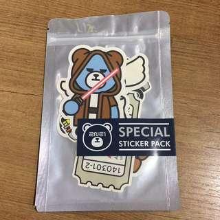 2NE1 special sticker pack