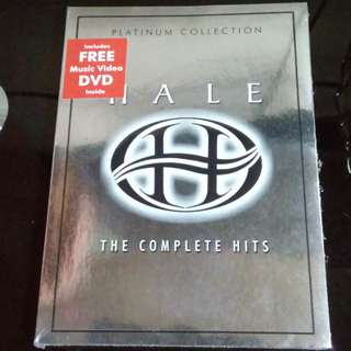 Original CD & VCD of Hale's Greatest Hits
