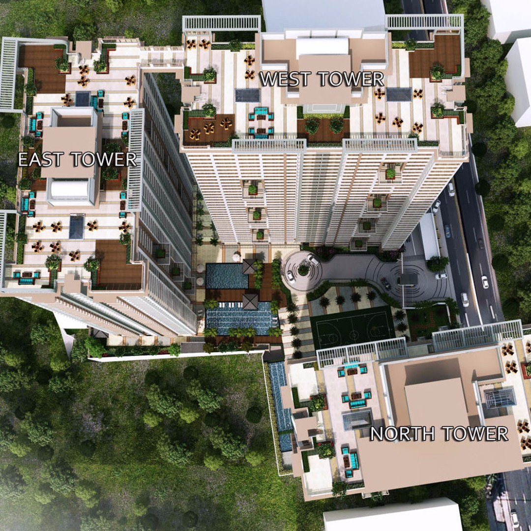 2 bedroom deluxe 65sqm Condo in Lumiere Residences Pasig City near Capitol Commons