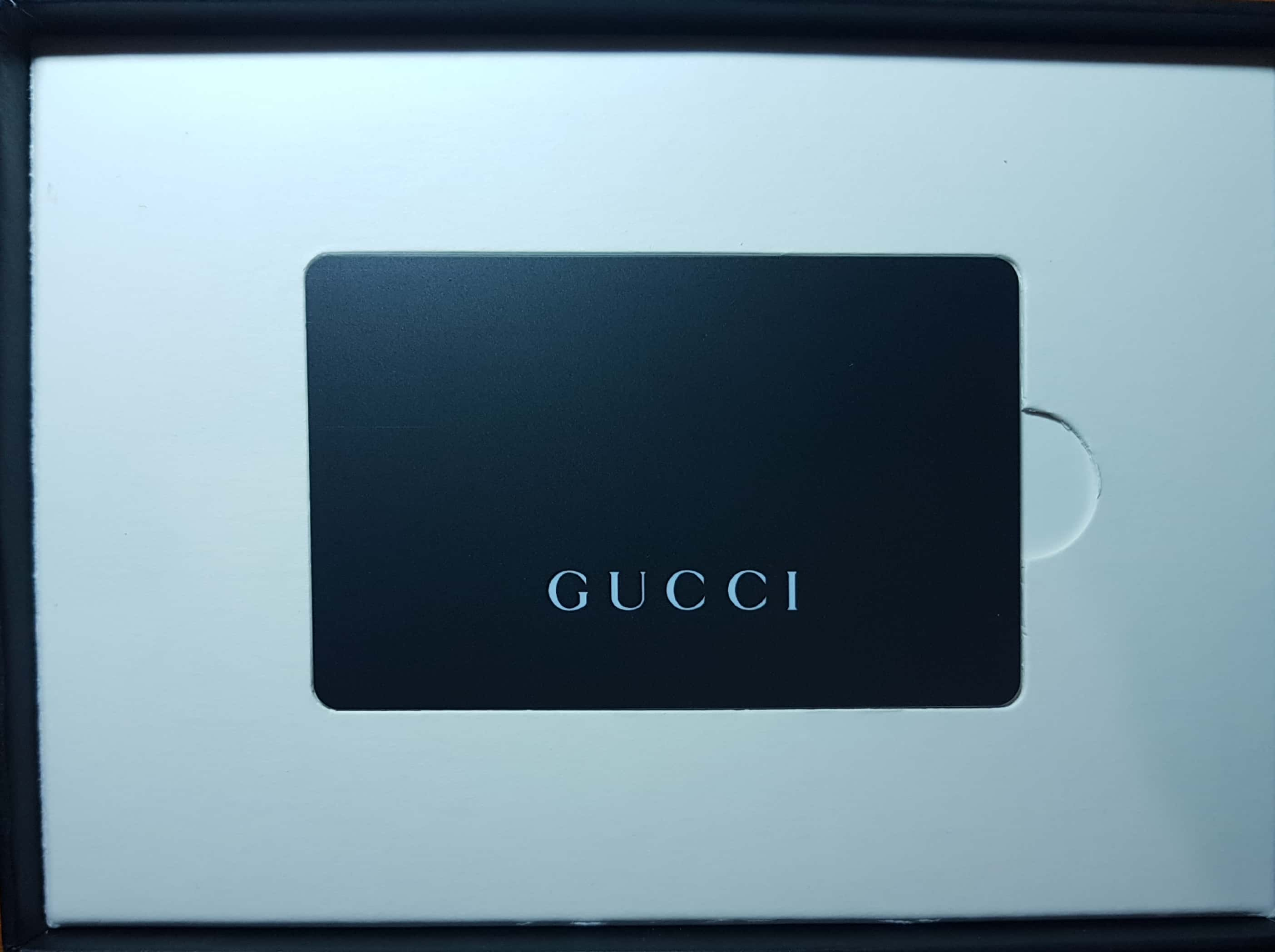 2e69fa8daa $500 Gucci Gift Voucher and Card, Entertainment, Gift Cards & Vouchers on  Carousell
