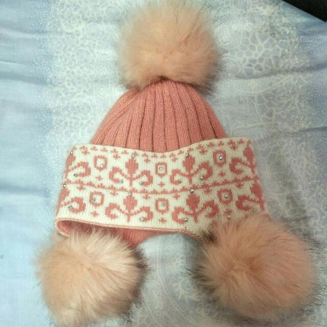 全新冬天毛帽
