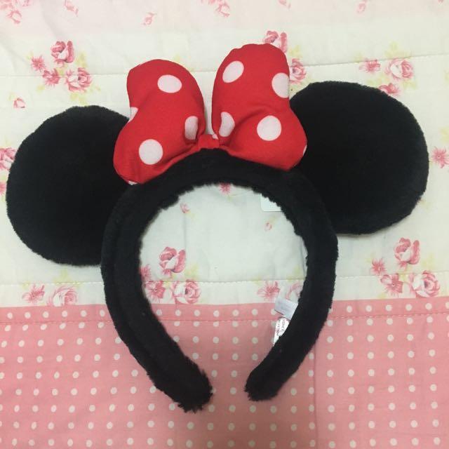 二手 正版 東京迪士尼 髮箍