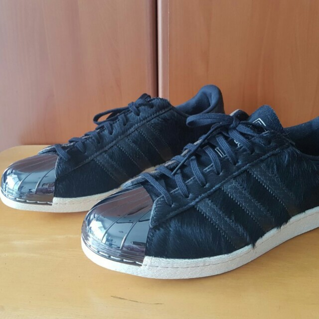 Adidas Superstar 80s Metal Toe Pony Hair size 42