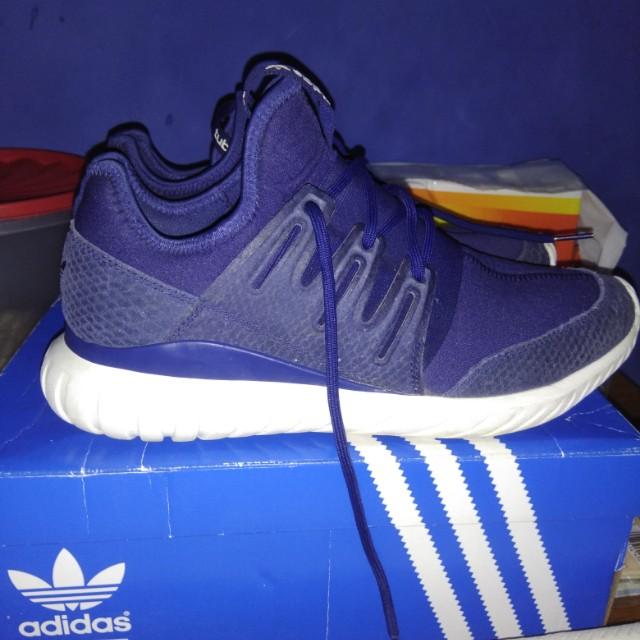 official photos 740f8 abcde Adidas tubular radial blue, Men's Fashion, Men's Footwear on ...
