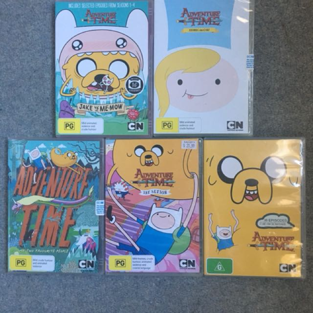 Adventure Time DVD Bundle