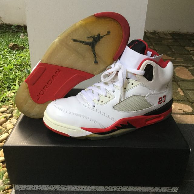 AIR JORDAN 5 FIRE RED OG