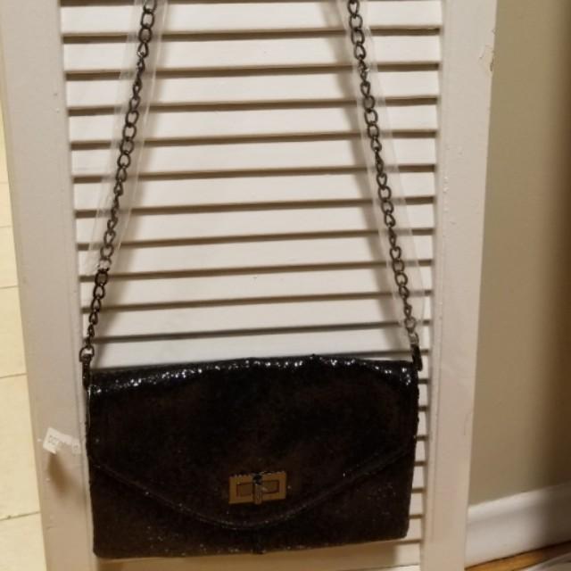 Aldo sequin crossbody bag