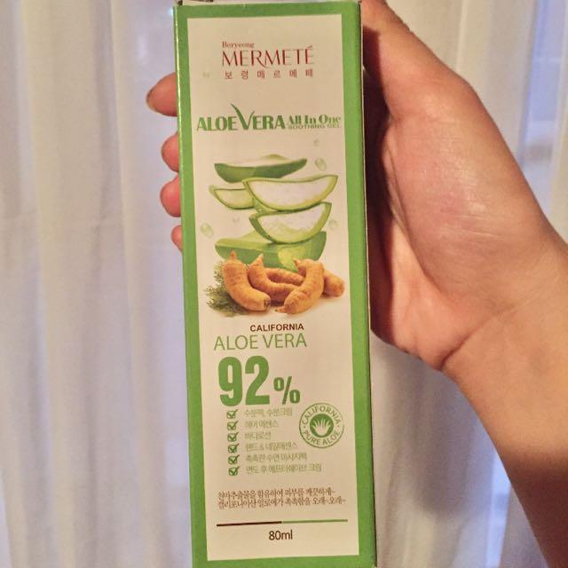 Aloe Vera all in one soothing gel