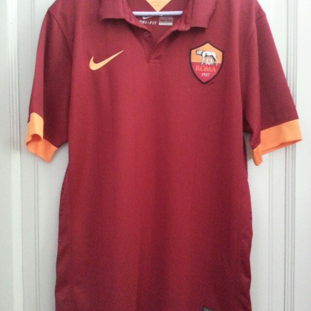 check out 6bd57 40021 AS Roma home kit 2014/15